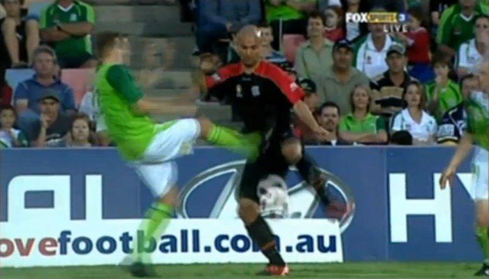 Неудачи из мира футбола (видео)