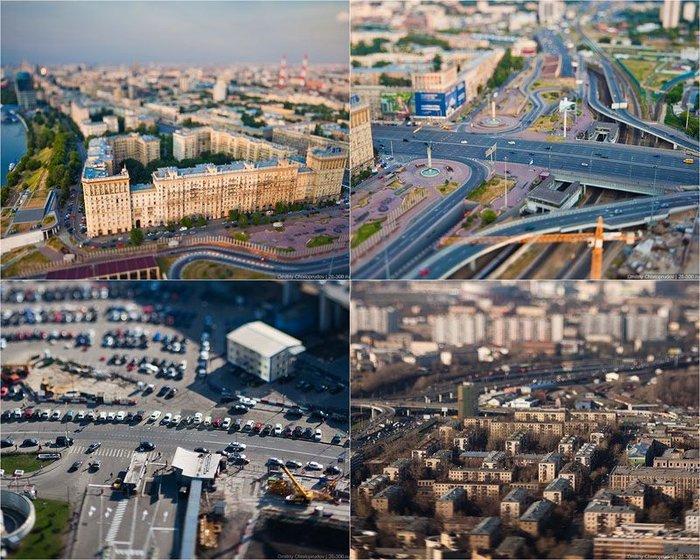 Маленькая Москва в масштабе 1:100 (45 фото)