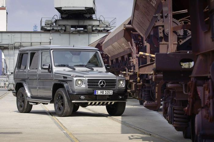 "Mercedes G-klasse ""BA3 Final Edition"" (15 фото)"