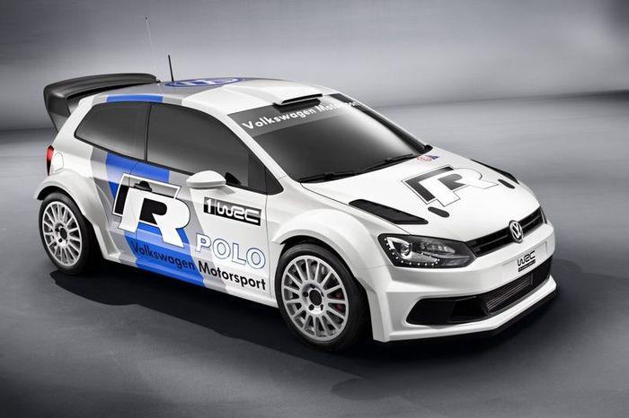 Раллийный Polo WRC от компании Volkswagen (8 фото)