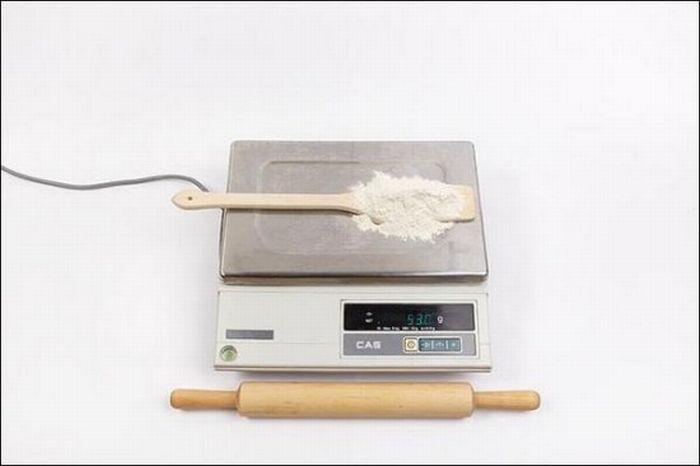 Мука пшеничная – 53 грамм