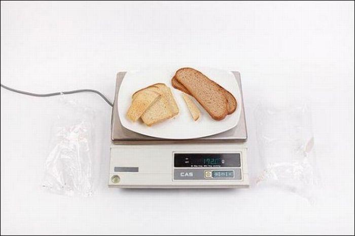 Хлеб пшеничный первого и второго сортов - 172 грамма