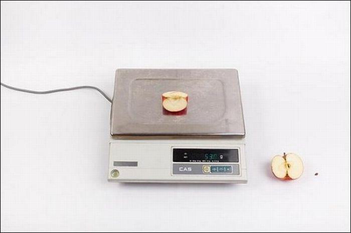 Яблоки – 53 грамм