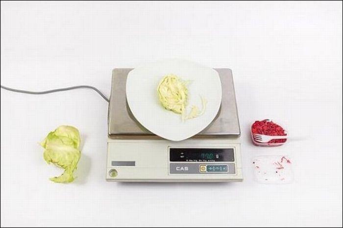 Капуста свежая белокочанная – 77 грамм