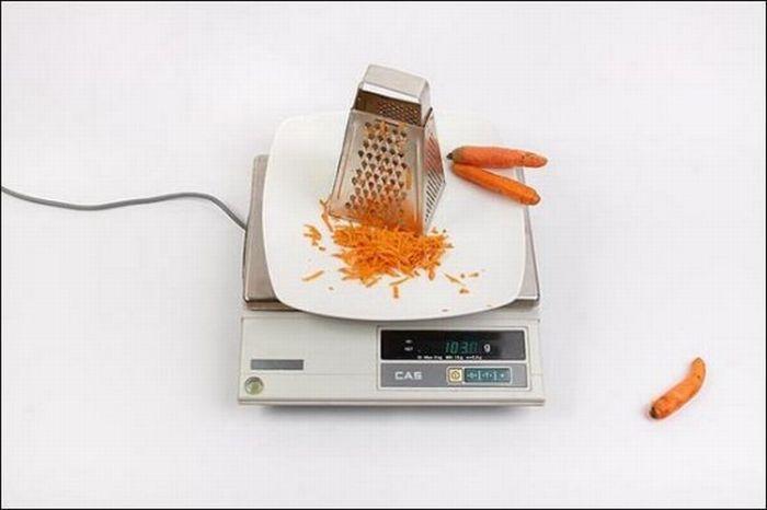 Морковь – 103 грамма
