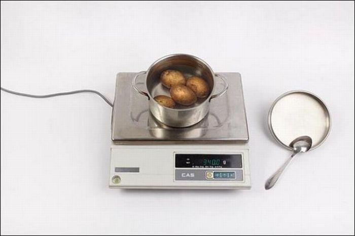 Картофель – 340 грамм