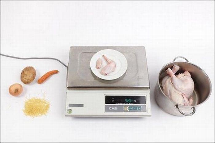 Кура потрошеная – 48 грамм