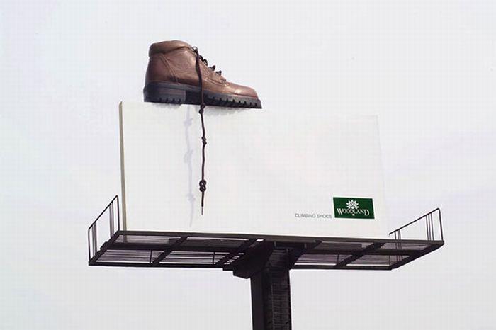 """Обувь Woodland: """"Восхождение обуви""""."""
