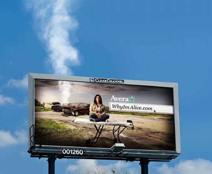 Avera Health: Дымящийся билборд