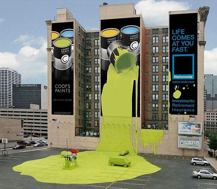 Coop's Paints (Реклама страховой компании)