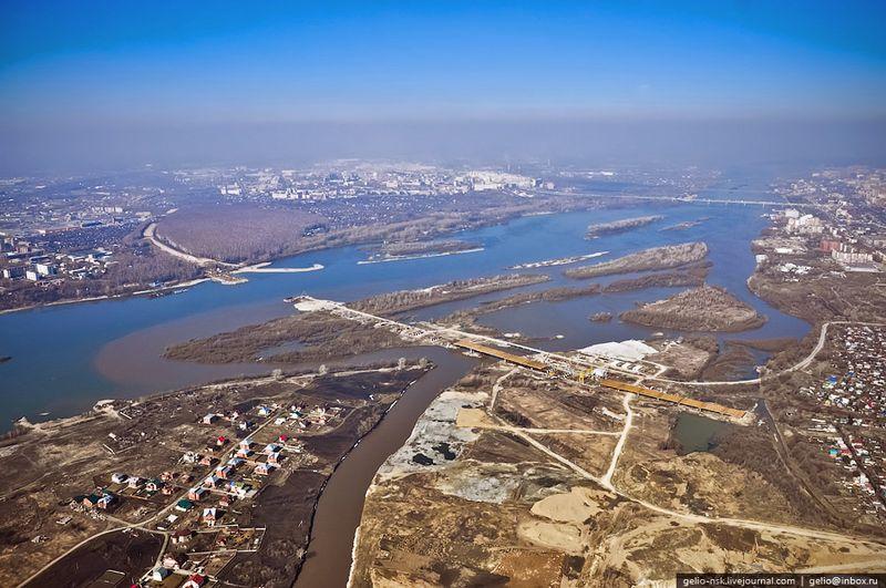 Устье реки Иня