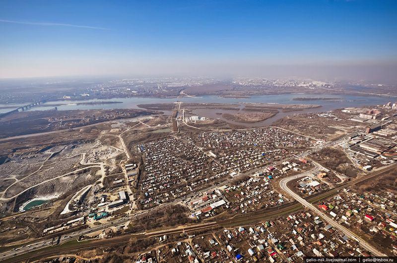 Новосибирск. Строительство третьего моста через Обь (27 фото)