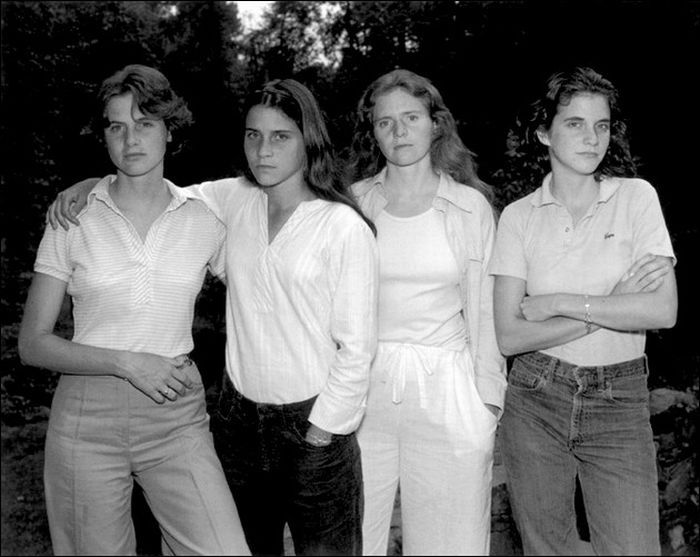 «The Brown Sisters» - как постареть красиво (35 фото)