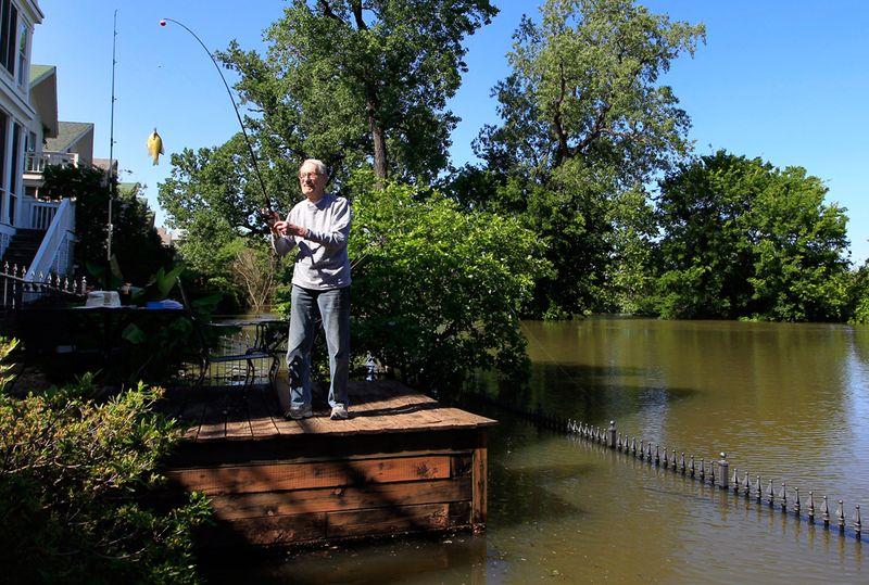 2133 Река Миссисипи вышла из берегов