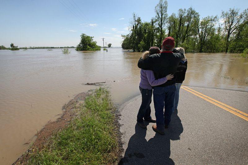 637 Река Миссисипи вышла из берегов