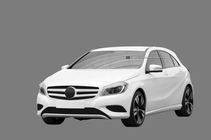 Новый пятидверный хэтчбек Mercedes-Benz A-Class (13 фото)