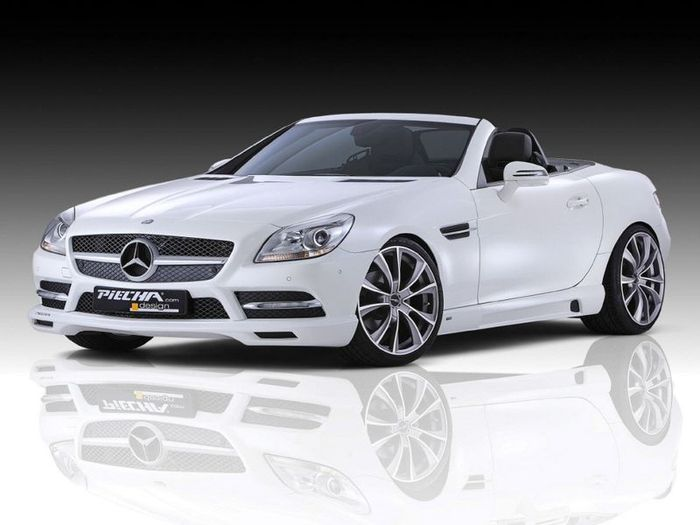 Mercedes SLK Accurian RS от Piecha Design (15 фото)