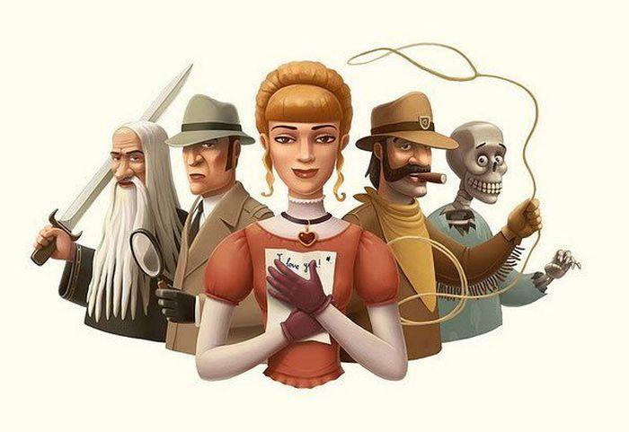 Классные работы иллюстратора Андрея Гордеева (26 Фото)
