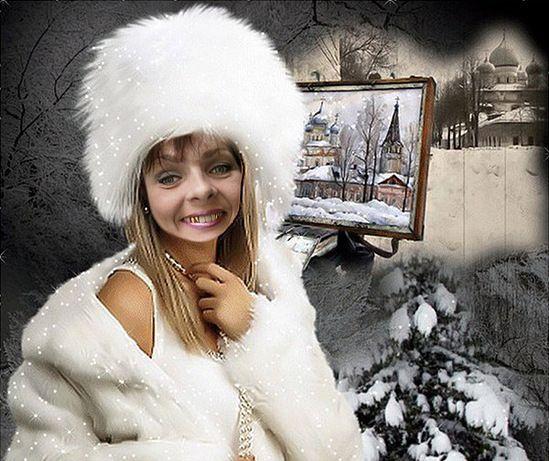 Скудные дары новогодней белочки.<br/>Это замечательно, когда у человека растут золотые зубы! – сказал Старик Хоттабыч.<br>Новогодняя Белочка подарила Валентине золотишко и пиратский фотожоп. Очень она всем этим гордиться!
