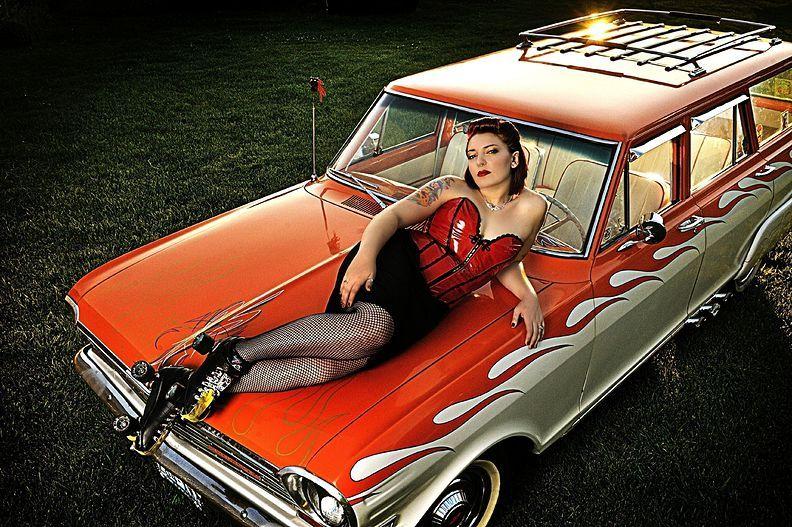 4. 16 июля 2008 года. – Спокан, штат Вашингтон, США. –Кейра Ларсон, также известная как Brawly Hatchet.