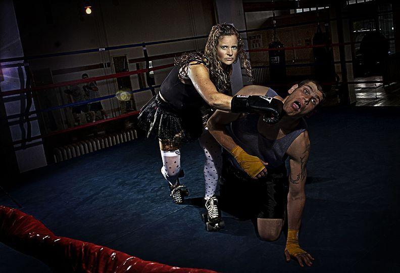 6. 21 мая 2008 года. – Спокан, штат Вашингтон, США. – Уитни Велч, мать семейства и спортсменка.