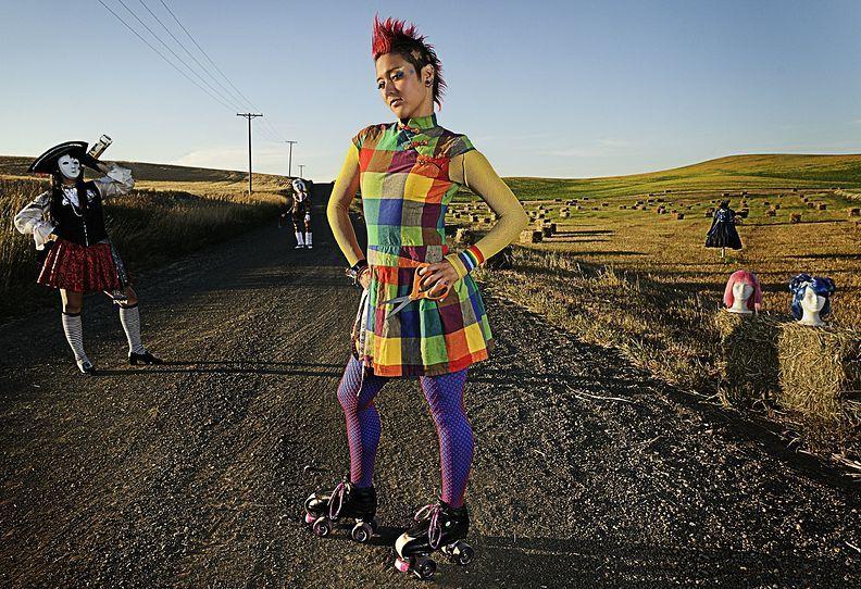 13. 28 июля 2009 года. – Спокан, штат Вашингтон, США. –Джен Ричмонд, также известная как Misato Herdemise, по профессии модельер.