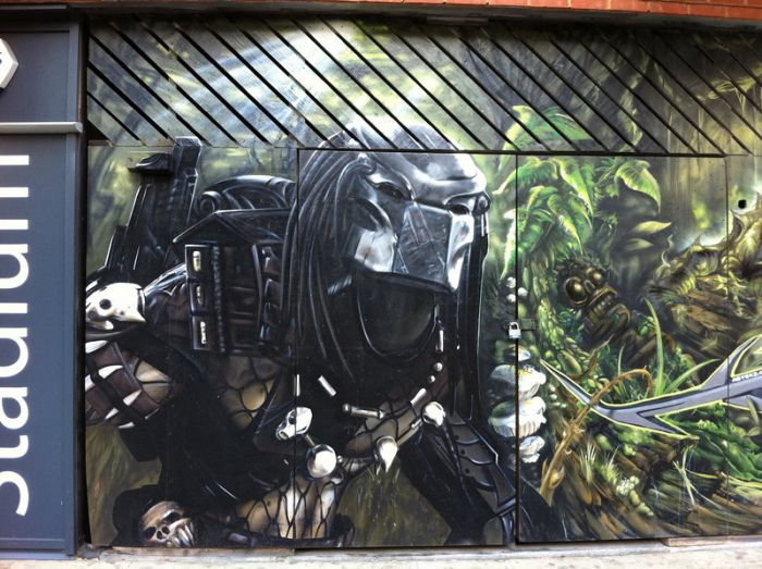 Классные граффити из Лондона (19 фото)