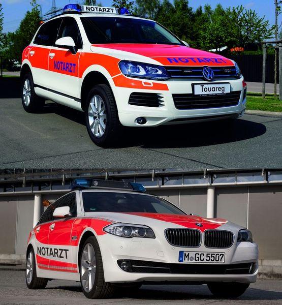 Спецтранспорт от BMW и VW на выставке RETTmobil (25 фото)