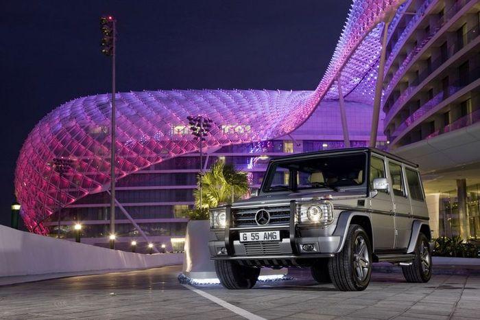 Mercedes Gelandewagen с новым мотором V12 (20 фото)