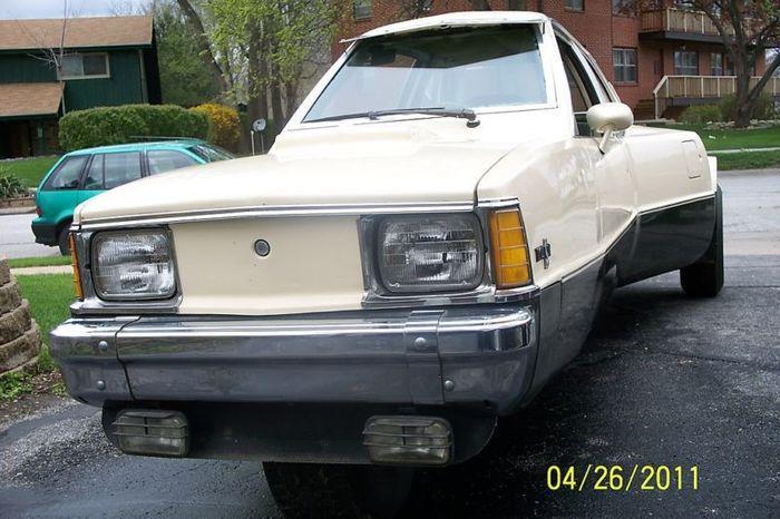 Трехколесный Chevy Citation (20 фото)