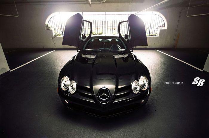 McLaren Mercedes SL от SR Auto Group и ADV.1 Wheels (5 фото)
