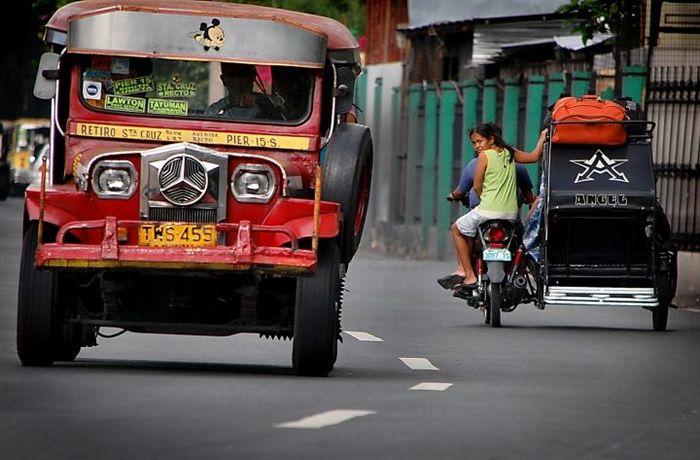 Гроза филиппинских дорог - Джипни (10 фото)