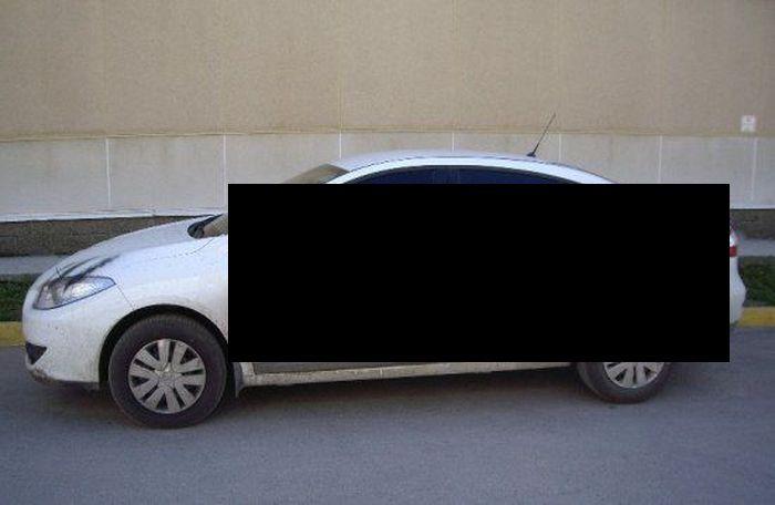 Ульяновские записки о плохой парковке или любви (4 фото)