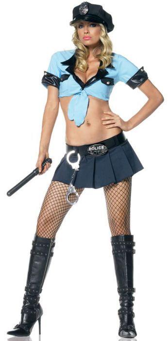 Фото девушки в костюме полицай фото 599-558