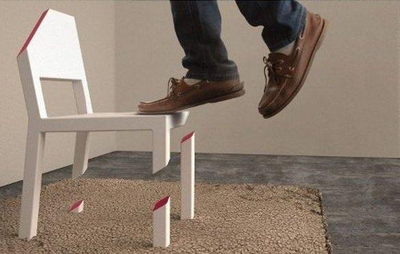 Магический стул (3 фото)