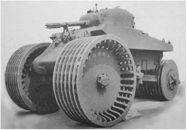 Американский T10 Sherman M4A2.