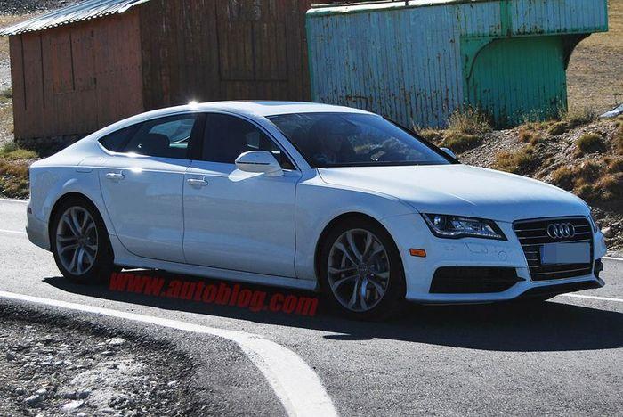 Новый дизель получат Audi S6 и S7 (9 фото)