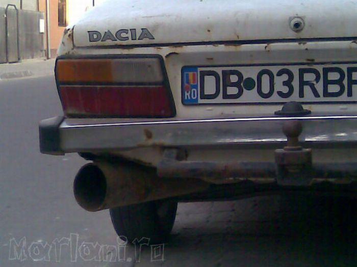 Забавные румынские водители (25 фото)