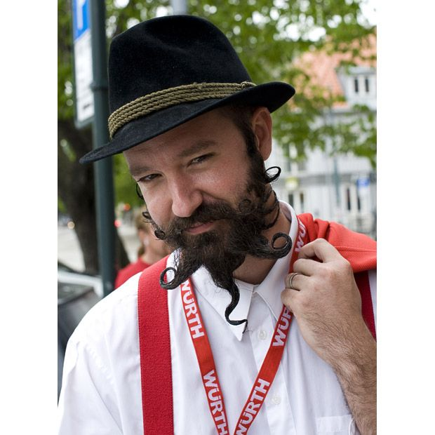Чемпионат усов и бород-2011 в Трондхайм, Норвегия (20 фото)
