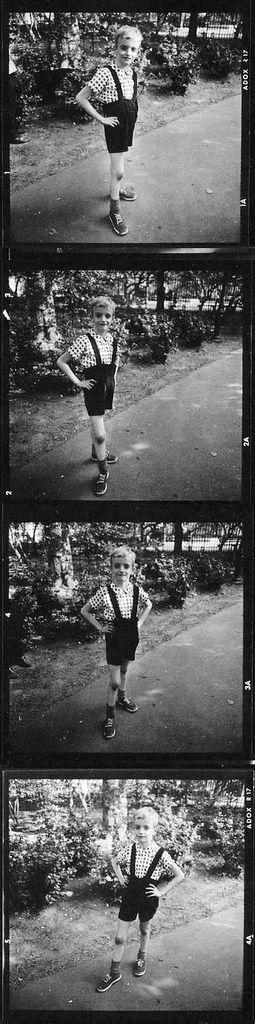 Diane Arbus: Страшный мальчик. Контрольки (12 фото)