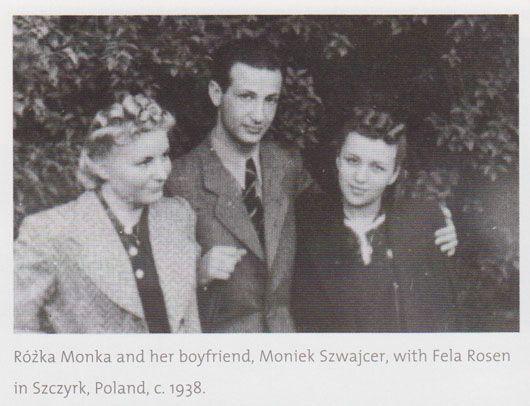 Монек Монка и Фела Розен в детстве