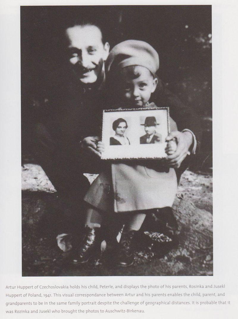 Следующие четыре фотографии маленького Питерле Хуперта скорее всего привезли в Освенцим его бабушка и дедушка.