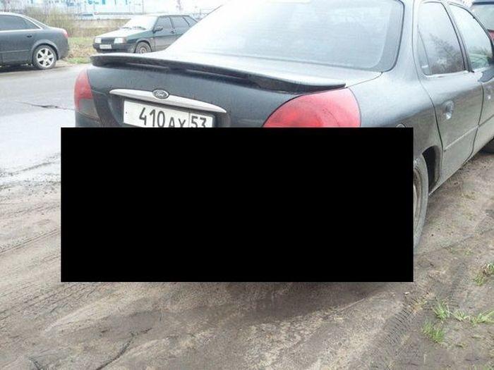 Новгородский тюнинг Ford Mondeo (4 фото)