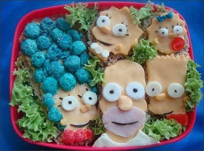 Вкуснятина! Креативная еда (23 Фото)