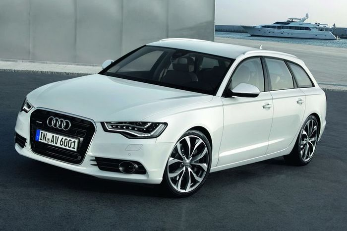 Компания Audi представила новый A6 Avant (70 фото+2 видео)