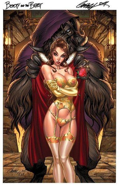 Сексуальные рисунки сказочных героинь