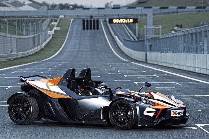 Компания KTM представила новый KTM X-Bow R (3 фото)
