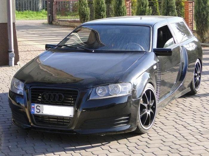 Audi A3 из Польши сделанный из Fiat Uno (8 фото)
