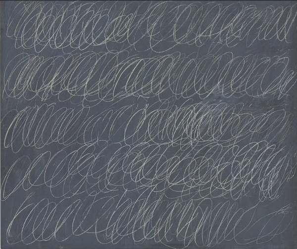 Полотно Сая Туомбли «Без названия» 1967 года — за 15,2 млн долларов ...