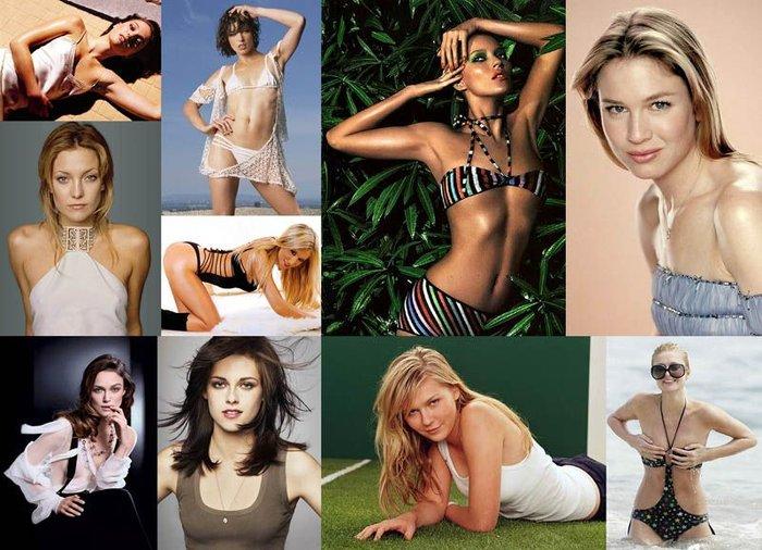 Десятка знаменитых обладательниц миниатюрных бюстов (10 фото)